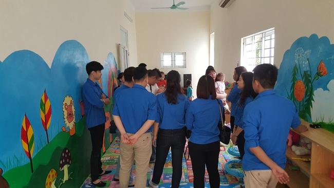 Chương trình thiện nguyện tại Trung tâm bảo trợ xã hội I, Hà Nội - Ảnh 2.