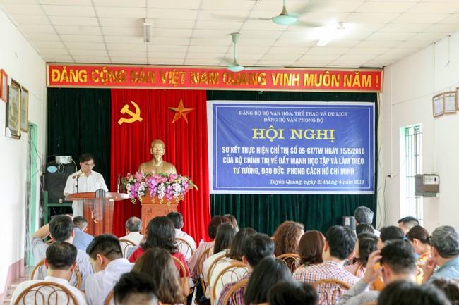 Đảng ủy Văn phòng Bộ: Đẩy mạnh học tập và làm theo tư tưởng, đạo đức, phong cách Hồ Chí Minh - Ảnh 1.