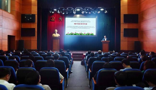 Bộ VHTTDL tổ chức Hội nghị chuyên đề quán triệt Quy định số 08 của Ban Chấp hành Trung ương Đảng - Ảnh 1.