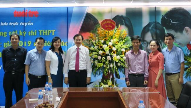 Thứ trưởng Tạ Quang Đông thăm và chúc mừng các cơ quan báo chí nhân Ngày Báo chí cách mạng Việt Nam - Ảnh 3.