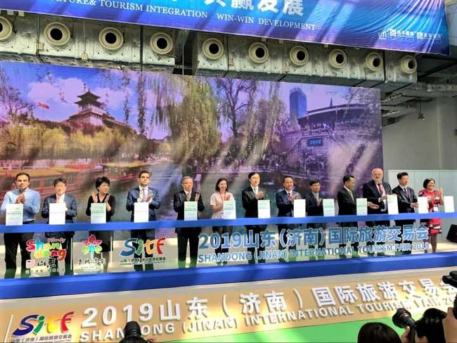 Việt Nam tham gia Hội chợ du lịch quốc tế Sơn Đông - Ảnh 1.