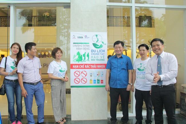 Phú Thọ phát động Du lịch chung tay bảo vệ môi trường, hạn chế rác thải nhựa - Ảnh 4.