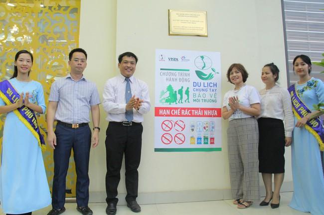 Phú Thọ phát động Du lịch chung tay bảo vệ môi trường, hạn chế rác thải nhựa - Ảnh 5.