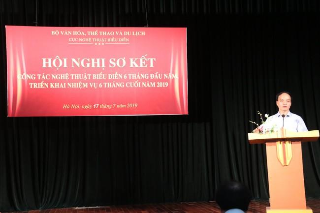 Thứ trưởng Tạ Quang Đông: Các nhà hát cần xây dựng chương trình đặc trưng, tạo thành sản phẩm du lịch hấp dẫn - Ảnh 2.