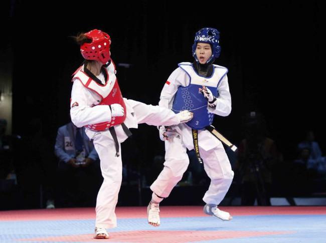 Gần 300 vận động viên thi đấu tại Giải vô địch Taekwondo các câu lạc bộ tỉnh Gia Lai - Ảnh 1.