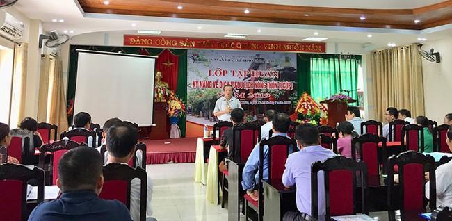 Hòa Bình bồi dưỡng, đào tạo, nâng cao chất lượng nguồn nhân lực ngành du lịch - Ảnh 1.