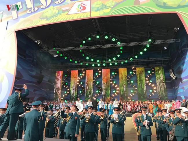 """Festival """"Cánh đồng Nga"""" - Nơi hội tụ nghệ thuật Slavơ - Ảnh 2."""