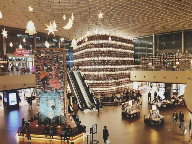 Chiêu hút khách du lịch đến thư viện ở Hàn Quốc - Ảnh 3.