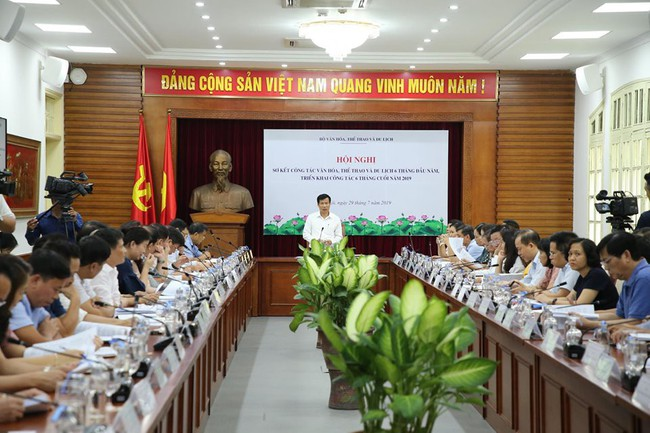 Bộ trưởng Nguyễn Ngọc Thiện: 6 tháng đầu năm, Bộ VHTTDL đã đạt những kết quả rõ rệt - Ảnh 1.