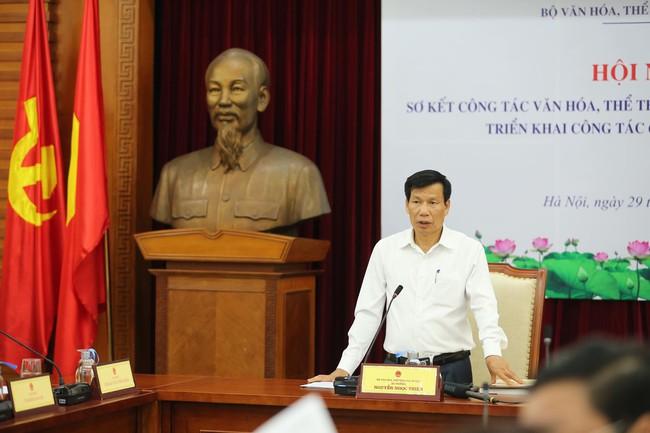 Bộ trưởng Nguyễn Ngọc Thiện: Ngành VHTTDL cần quyết liệt thực hiện nhiệm vụ những tháng cuối năm - Ảnh 1.