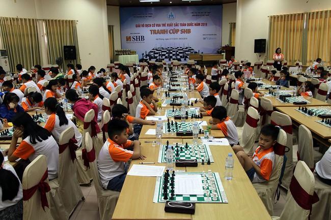 Giải Vô địch cờ vua trẻ xuất sắc toàn quốc 2019 - Ảnh 1.