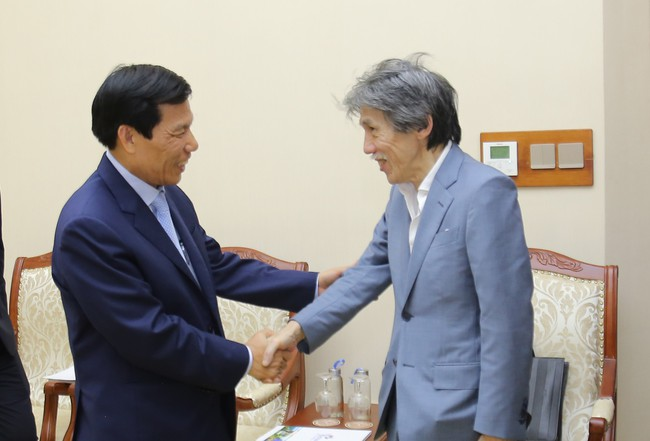 Bộ trưởng Nguyễn Ngọc Thiện tiếp Chủ tịch tập đoàn Legend (Macao, Trung Quốc) - Ảnh 1.