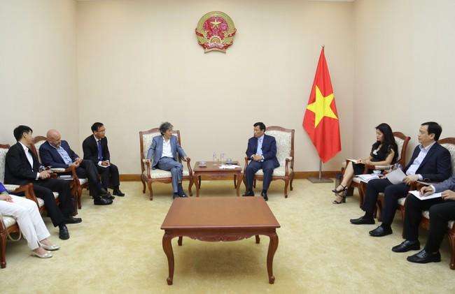 Bộ trưởng Nguyễn Ngọc Thiện tiếp Chủ tịch tập đoàn Legend (Macao, Trung Quốc) - Ảnh 2.