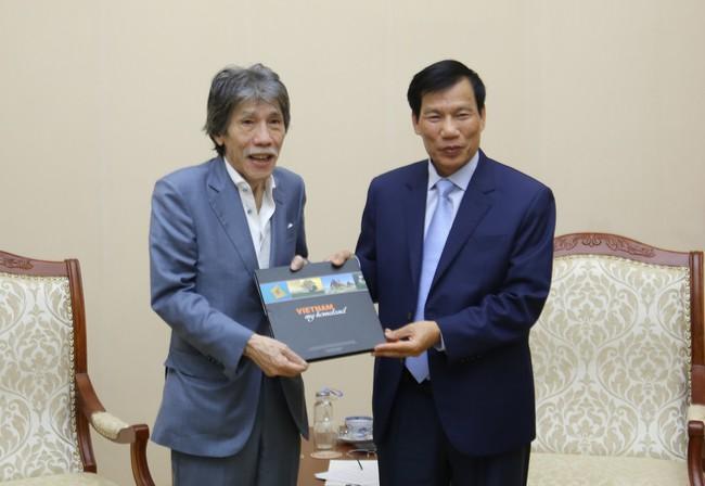 Bộ trưởng Nguyễn Ngọc Thiện tiếp Chủ tịch tập đoàn Legend (Macao, Trung Quốc) - Ảnh 3.