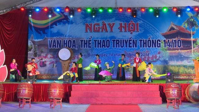 Nhiều hoạt động ý nghĩa tại Lễ kỷ niệm 130 năm ngày thành lập tỉnh và Ngày hội VHTTDL Thái Bình - Ảnh 1.