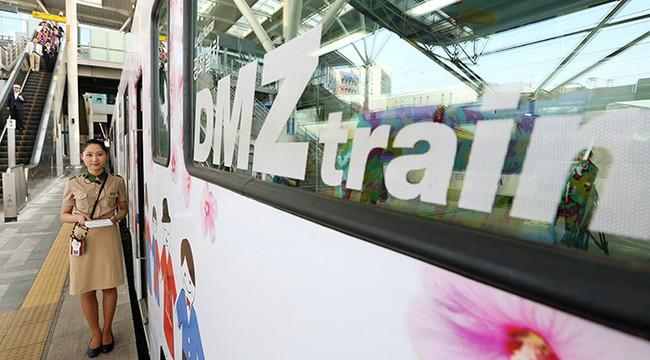 Tàu hỏa hòa bình DMZ – đưa du khách đến thăm những địa điểm mang tính biểu tượng quan trọng của Hàn Quốc - Ảnh 1.