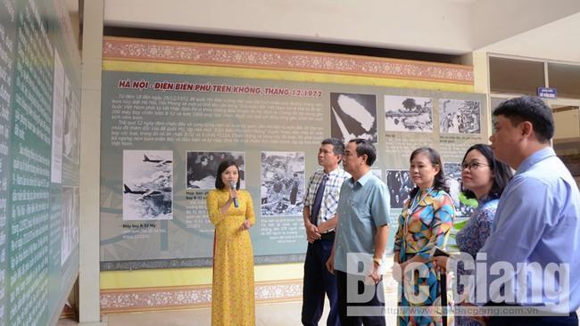 Trưng bày chuyên đề 50 năm thực hiện Di chúc của Chủ tịch Hồ Chí Minh tại Bắc Giang - Ảnh 1.