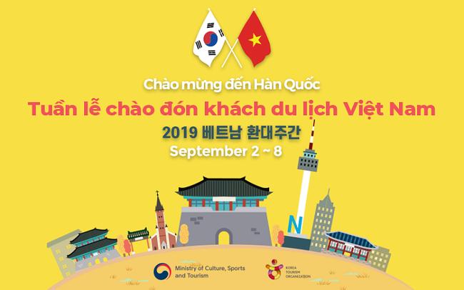 Hàn Quốc tổ chức Tuần lễ chào đón khách du lịch Việt Nam - Ảnh 1.
