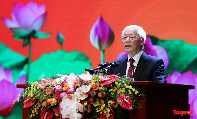 Lễ kỷ niệm cấp Quốc gia 50 năm thực hiện Di chúc của Chủ tịch Hồ Chí Minh và 50 năm Ngày mất của Người - Ảnh 3.