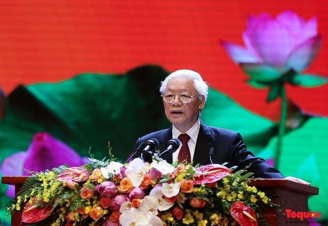 Lễ kỷ niệm cấp Quốc gia 50 năm thực hiện Di chúc của Chủ tịch Hồ Chí Minh và 50 năm Ngày mất của Người - Ảnh 5.