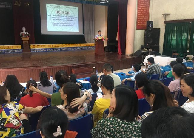 Trường Cao đẳng Văn hóa nghệ thuật Việt Bắc tổ chức Học tập, quán triệt, tuyên truyền và triển khai thực hiện Nghị quyết Hội nghị lần thứ mười, Ban chấp hành Trung ương Đảng khóa XII - Ảnh 1.