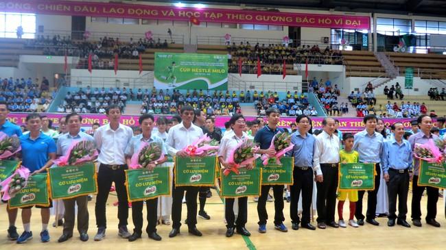 Khai mạc vòng chung kết Giải Bóng đá Hội khỏe Phù Đổng học sinh toàn quốc Cúp Nestlé Milo lần thứ 17 năm 2019 - Ảnh 1.