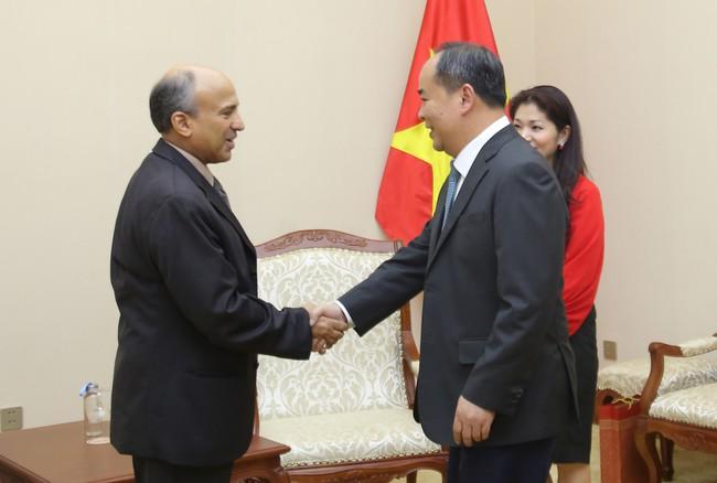 Thứ trưởng Lê Khánh Hải tiếp Đại sứ Vương quốc Ả Rập Xê Út tại Việt Nam Saud F.M.Al Suwelim - Ảnh 1.