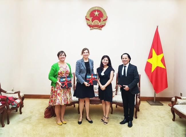 Cục Hợp tác quốc tế tiếp đoàn Tham tán Thông tin - Văn hoá, Đại sứ quán Hoa Kỳ tại Việt Nam.  - Ảnh 2.