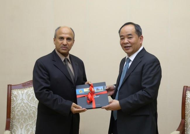 Thứ trưởng Lê Khánh Hải tiếp Đại sứ Vương quốc Ả Rập Xê Út tại Việt Nam Saud F.M.Al Suwelim - Ảnh 3.