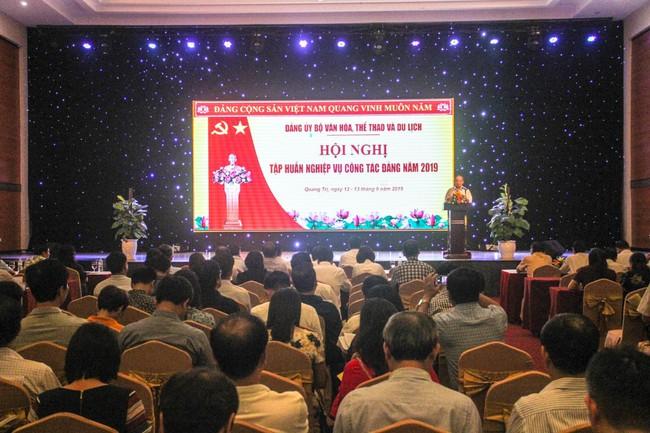 Bộ VHTTDL tổ chức Hội nghị tập huấn công tác Đảng năm 2019 - Ảnh 2.