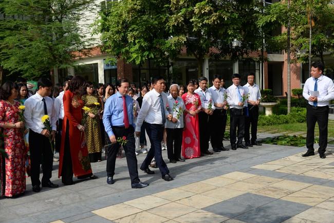 Thứ trưởng Tạ Quang Đông dự lễ khai giảng năm học 2019-2020 của trường Đại học Văn hóa Hà Nội - Ảnh 3.