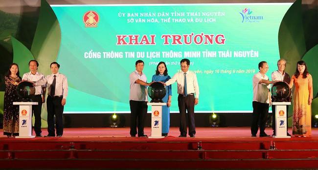 Khai trương Cổng thông tin du lịch thông minh tỉnh Thái Nguyên - Ảnh 1.