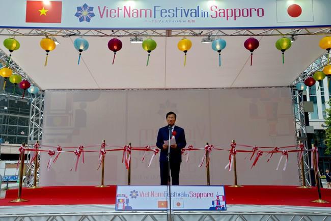 Khai mạc Lễ hội Việt Nam tại Sapporo năm 2019 lần thứ nhất - Ảnh 1.
