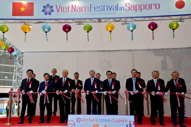 Khai mạc Lễ hội Việt Nam tại Sapporo năm 2019 lần thứ nhất - Ảnh 3.