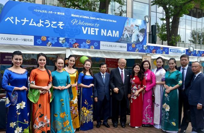 Khai mạc Lễ hội Việt Nam tại Sapporo năm 2019 lần thứ nhất - Ảnh 6.