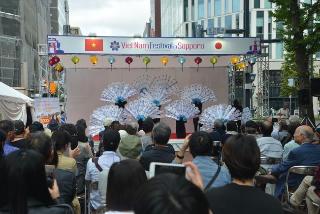 Khai mạc Lễ hội Việt Nam tại Sapporo năm 2019 lần thứ nhất - Ảnh 7.