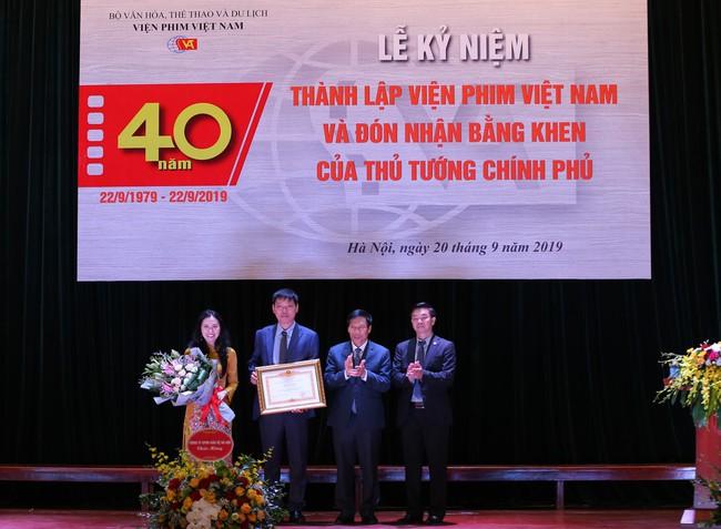 Lễ kỷ niệm 40 năm thành lập Viện Phim Việt Nam - Ảnh 2.