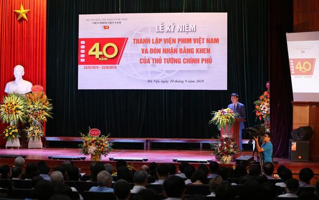 Lễ kỷ niệm 40 năm thành lập Viện Phim Việt Nam - Ảnh 5.
