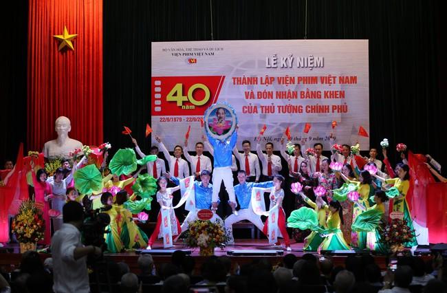 Lễ kỷ niệm 40 năm thành lập Viện Phim Việt Nam - Ảnh 6.