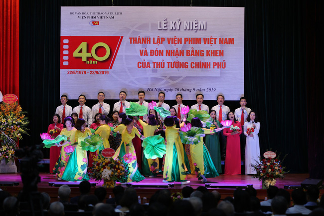 Lễ kỷ niệm 40 năm thành lập Viện Phim Việt Nam - Ảnh 7.