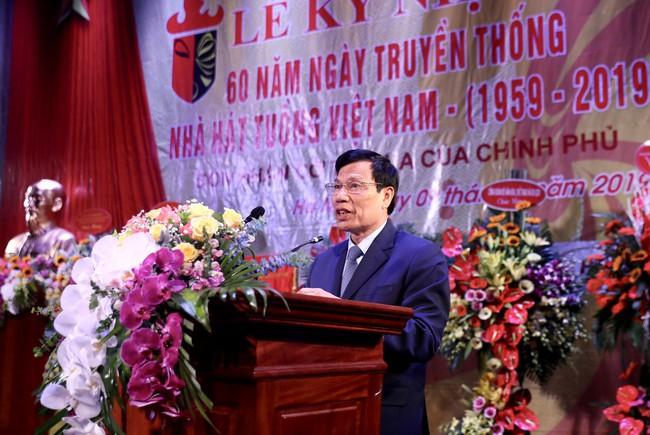 Lễ kỷ niệm 60 năm ngày truyền thống Nhà hát Tuồng Việt Nam - Ảnh 1.