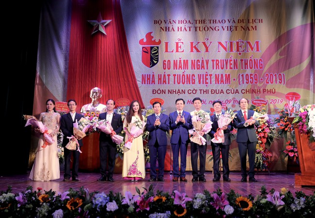 Lễ kỷ niệm 60 năm ngày truyền thống Nhà hát Tuồng Việt Nam - Ảnh 3.