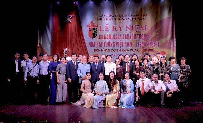 Lễ kỷ niệm 60 năm ngày truyền thống Nhà hát Tuồng Việt Nam - Ảnh 4.