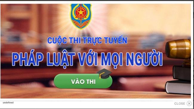 """Bộ VHTTDL phát động cuộc thi tìm hiểu pháp luật trực tuyến """"Pháp luật với mọi người"""" - Ảnh 1."""
