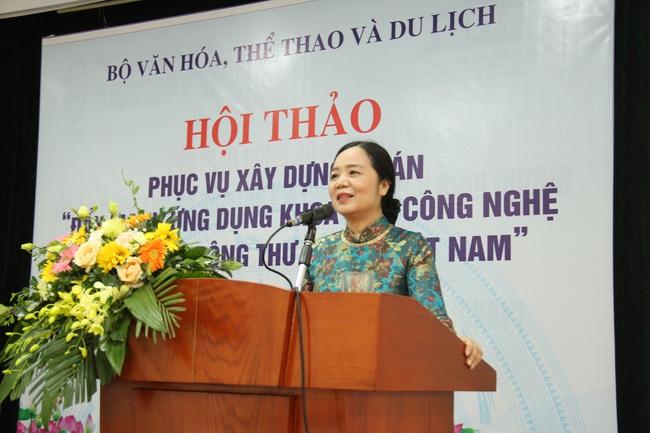 """Hội thảo phục vụ xây dựng Đề án """"Đẩy mạnh ứng dụng khoa học và công nghệ trong hoạt động thư viện tại Việt Nam đến năm 2025, định hướng đến năm 2030"""""""