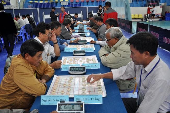 46 kỳ thủ tham gia Giải Cờ tướng toàn tỉnh Lâm Đồng năm 2020 - Ảnh 1.