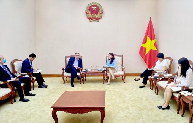 Cục trưởng Cục Hợp tác quốc tế làm việc với Đại sứ Hungary tại Việt Nam - Ảnh 1.