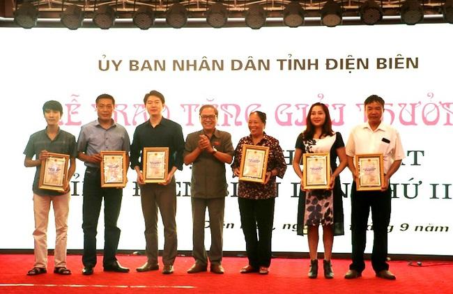 21 tác phẩm được trao Giải thưởng Văn học, Nghệ thuật tỉnh Điện Biên lần thứ III - Ảnh 1.