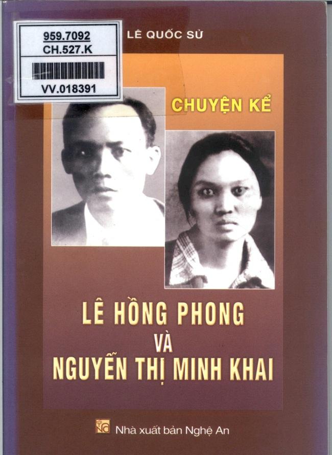 Giới thiệu một số cuốn sách nhân Kỷ niệm 110 năm Ngày sinh đồng chí Nguyễn Thị Minh Khai - Ảnh 3.