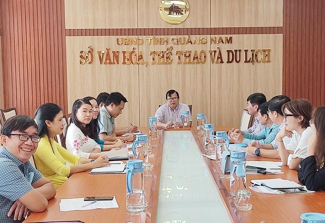Quảng Nam: Họp bàn về hỗ trợ, phục hồi phát triển du lịch do ảnh hưởng dịch bệnh Covid -19 - Ảnh 1.